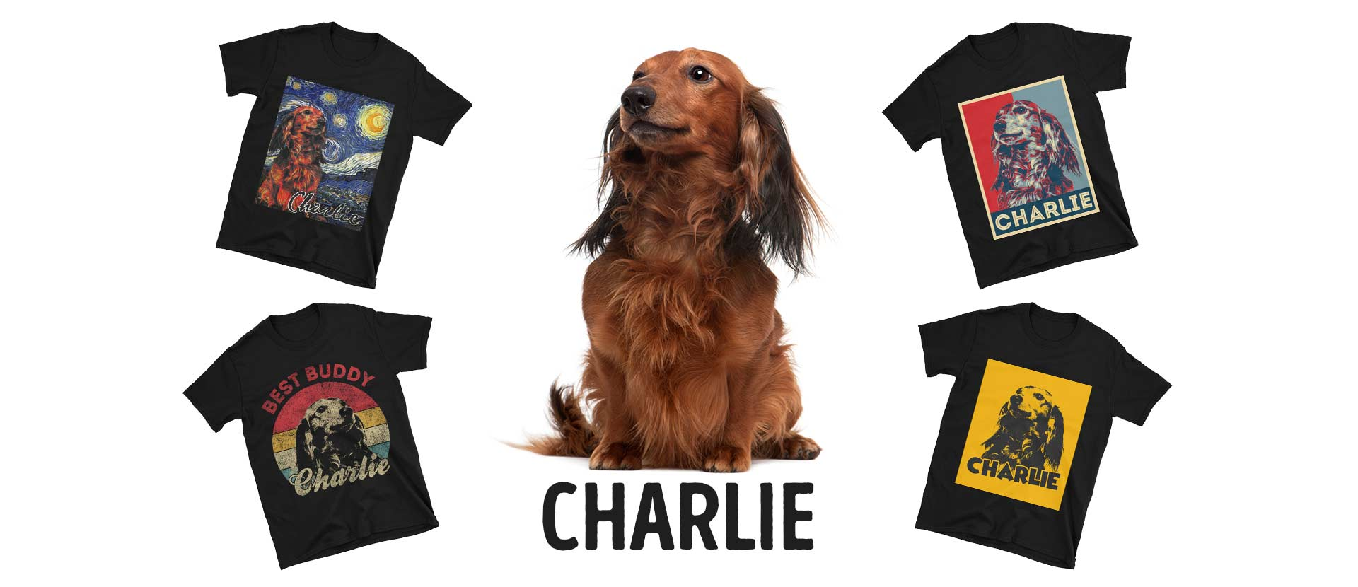 Dachshundstyle-custom-page-header-T-shirts